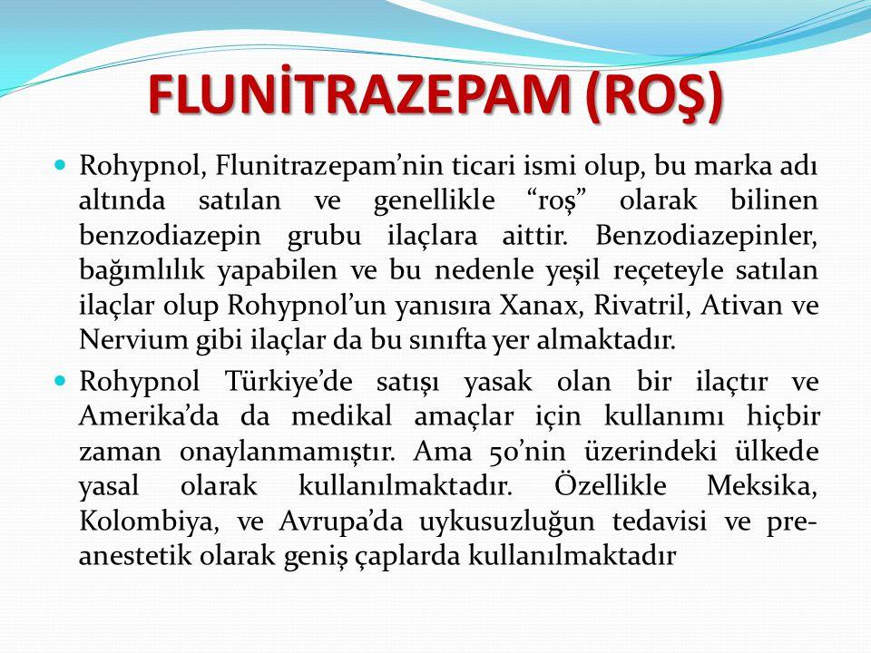 FLUNİTRAZEPAM (ROŞ)