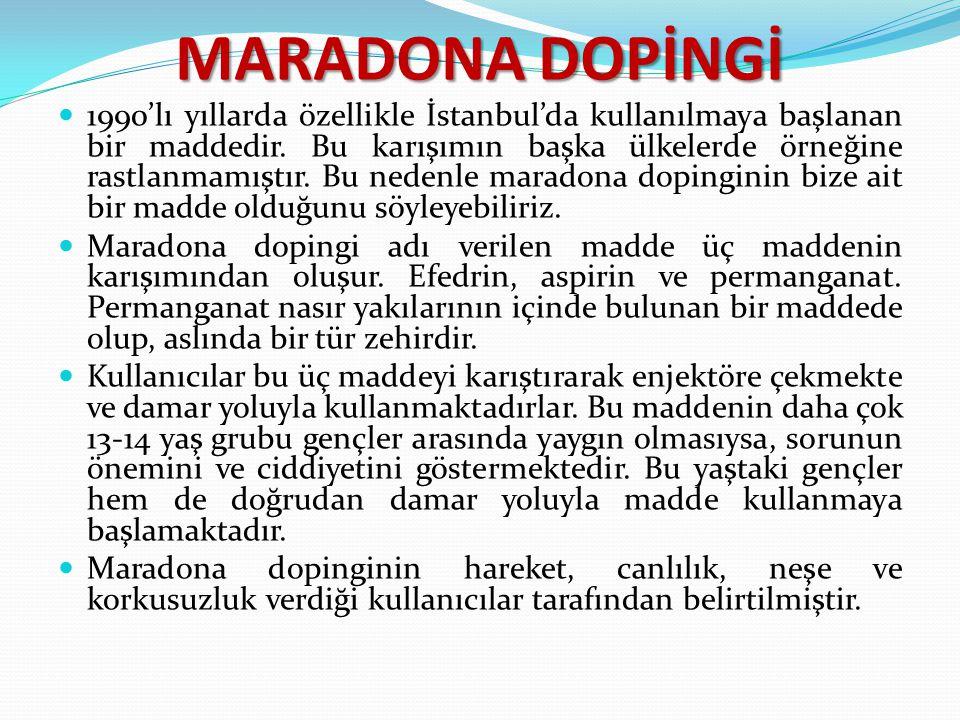 MARADONA DOPİNGİ