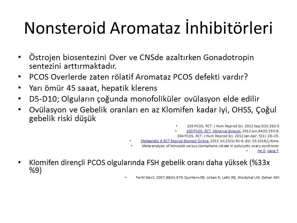 Nonsteroid Aromataz İnhibitörleri