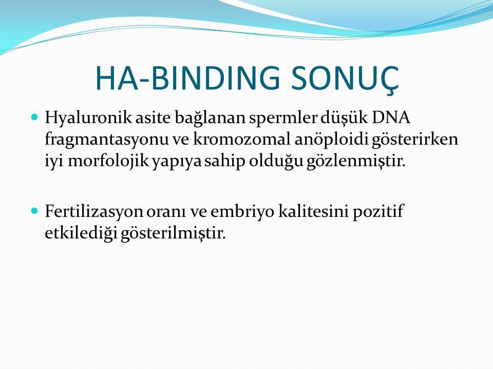 HA-BINDING SONUÇ