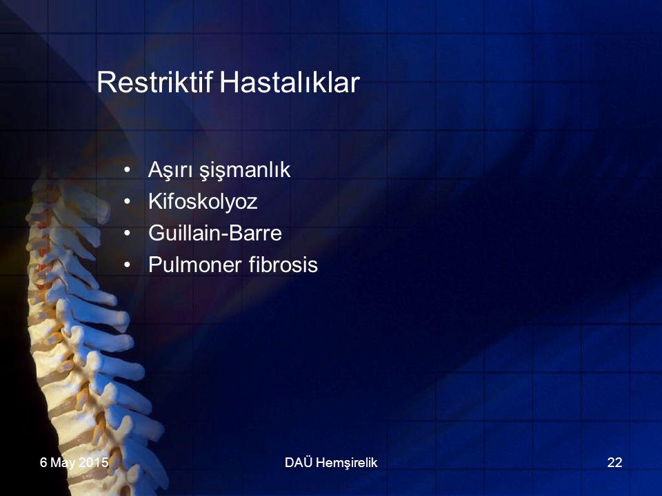 Restriktif Hastalıklar