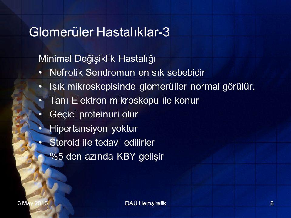 Glomerüler Hastalıklar-3