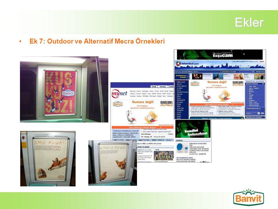 Ekler Ek 7: Outdoor ve Alternatif Mecra Örnekleri