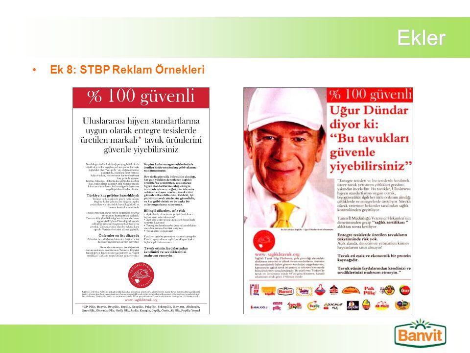 Ekler Ek 8: STBP Reklam Örnekleri