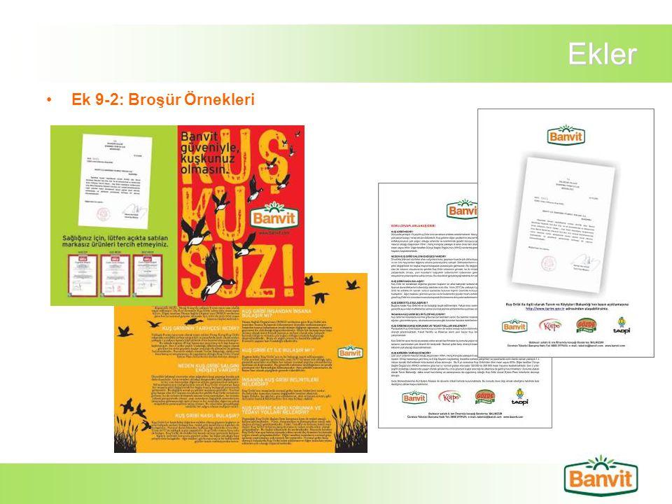 Ekler Ek 9-2: Broşür Örnekleri