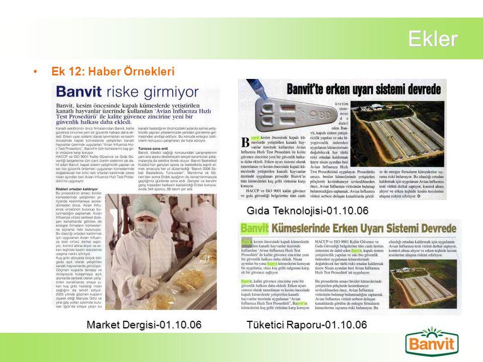 Ekler Ek 12: Haber Örnekleri Gıda Teknolojisi-01.10.06