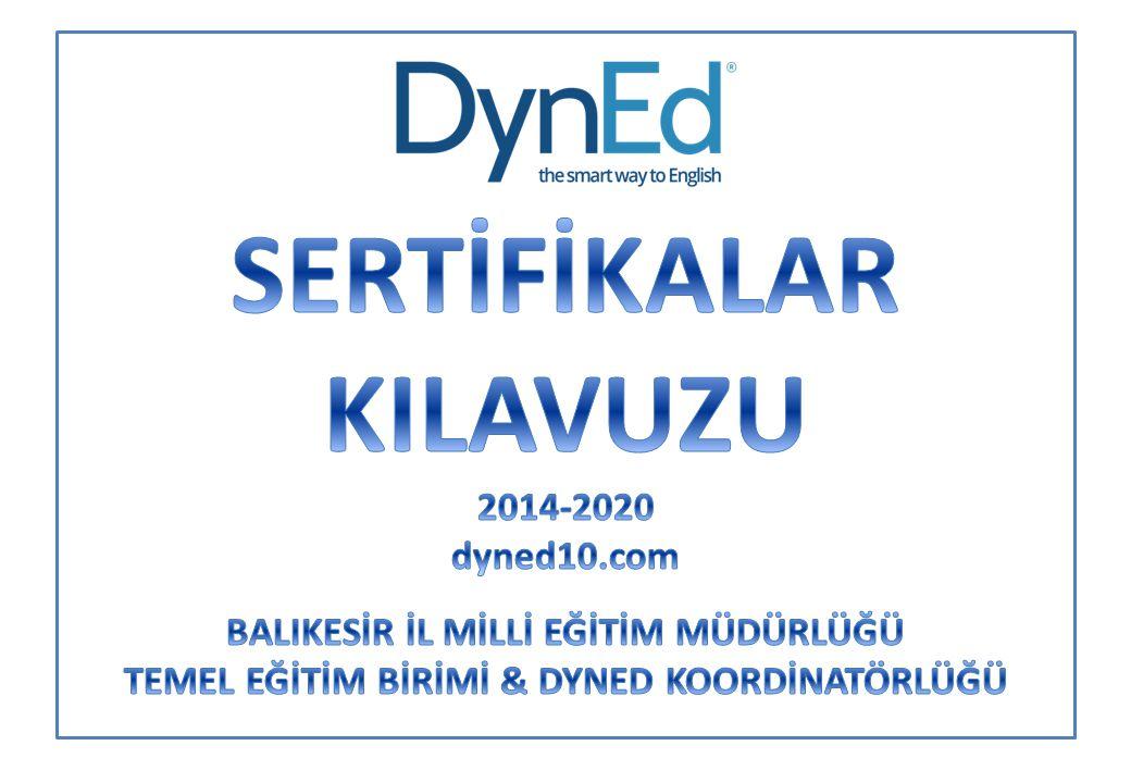 SERTİFİKALAR KILAVUZU 2014-2020 dyned10