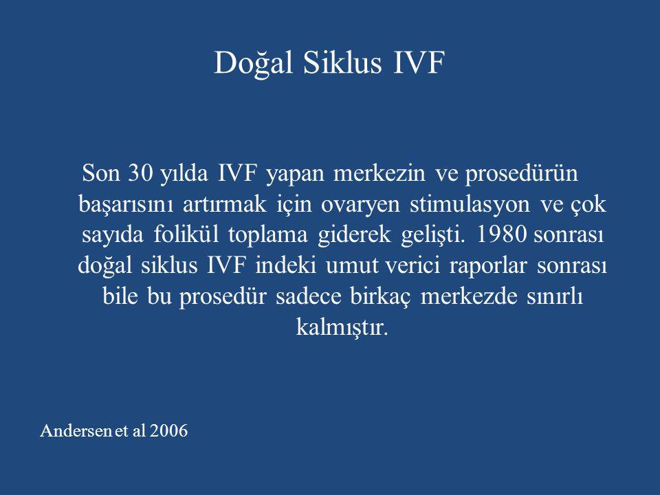 Doğal Siklus IVF