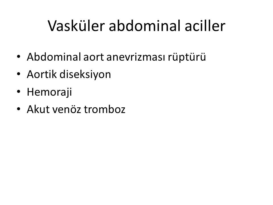 Vasküler abdominal aciller