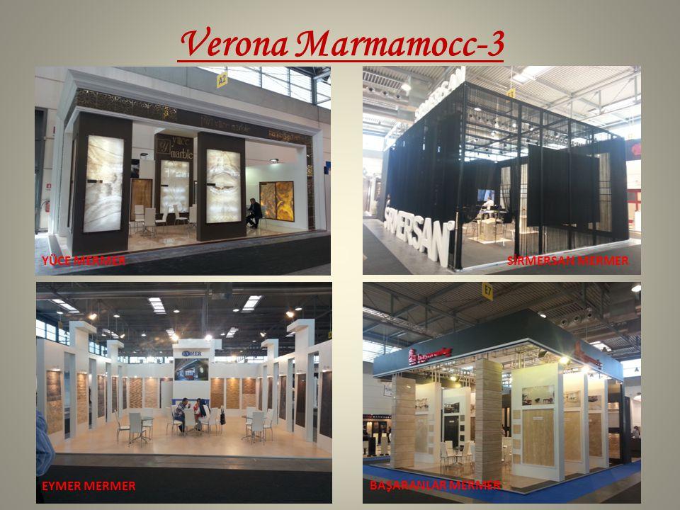 Verona Marmamocc-3 YÜCE MERMER SİRMERSAN MERMER EYMER MERMER