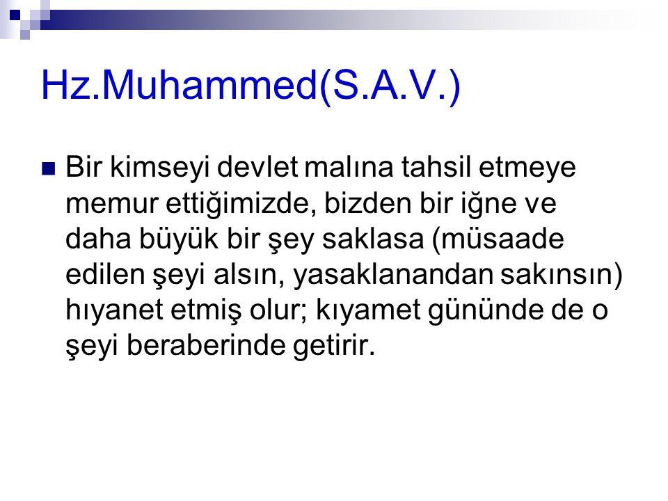 Hz.Muhammed(S.A.V.)
