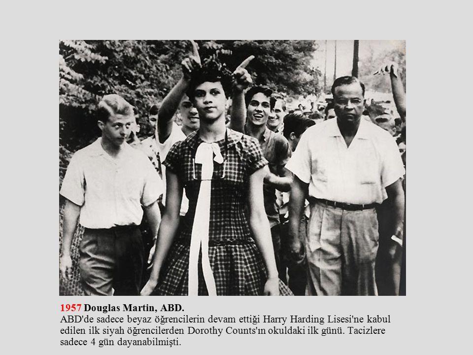 1957 Douglas Martin, ABD.