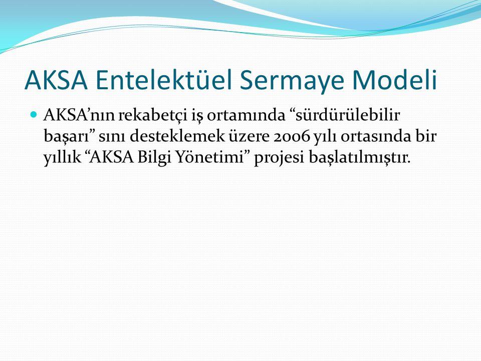 AKSA Entelektüel Sermaye Modeli