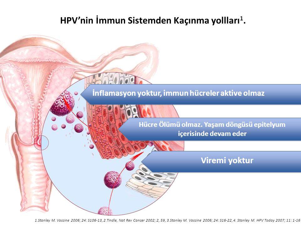 HPV'nin İmmun Sistemden Kaçınma yollları1.