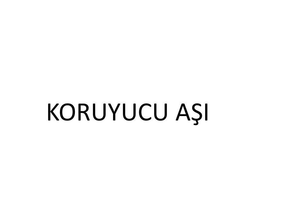KORUYUCU AŞI