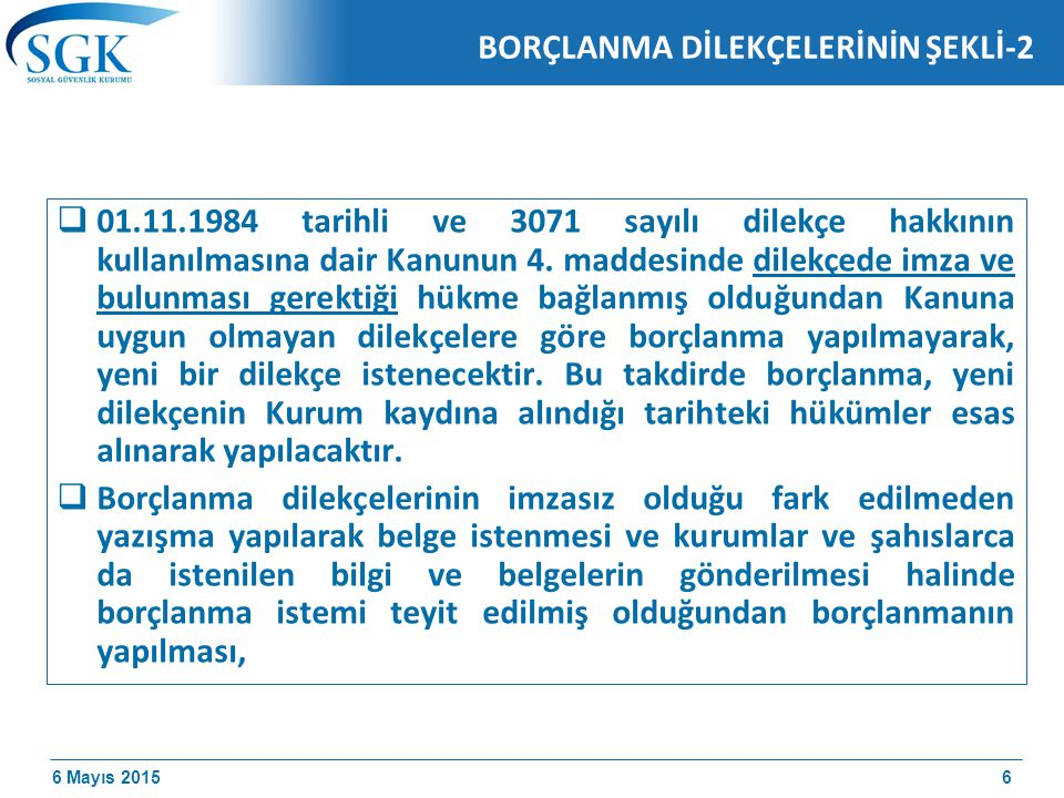 BORÇLANMA DİLEKÇELERİNİN ŞEKLİ-2