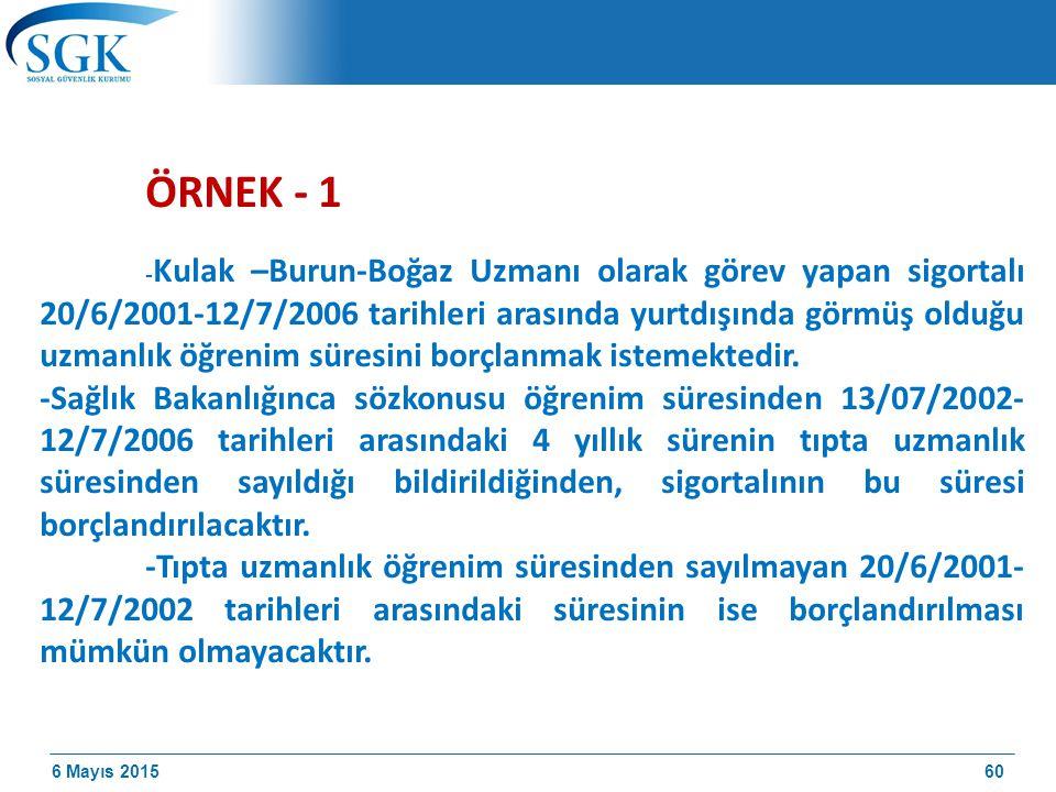 ÖRNEK - 1