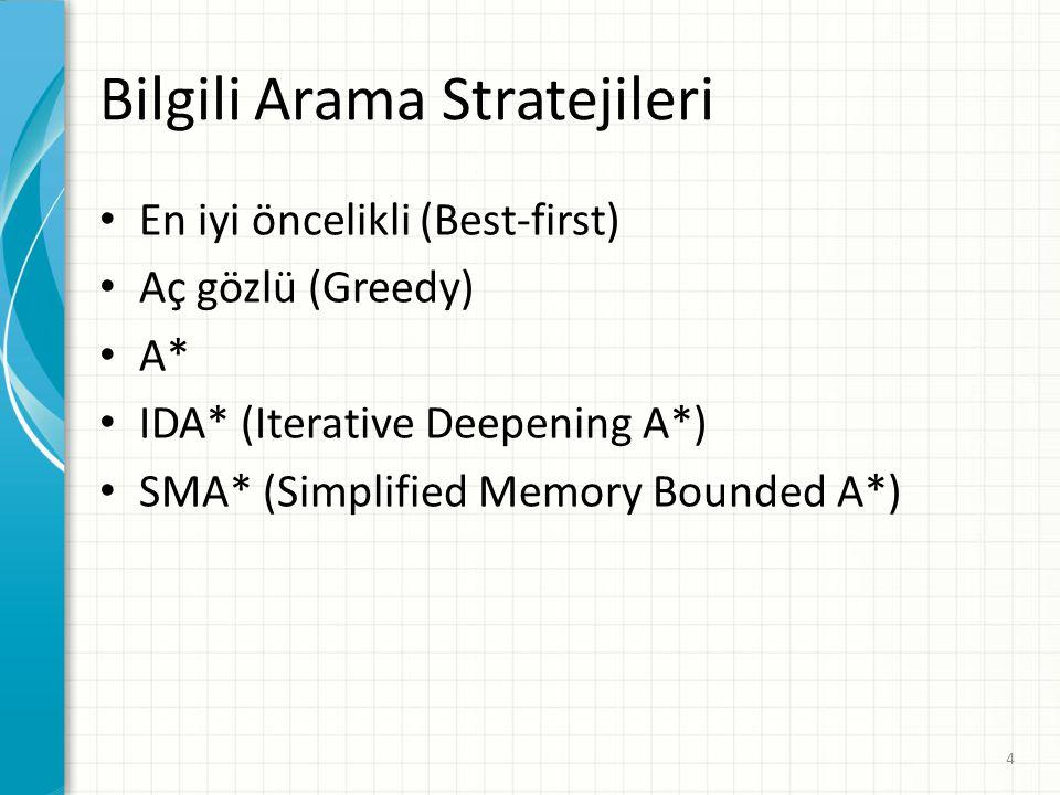 Bilgili Arama Stratejileri