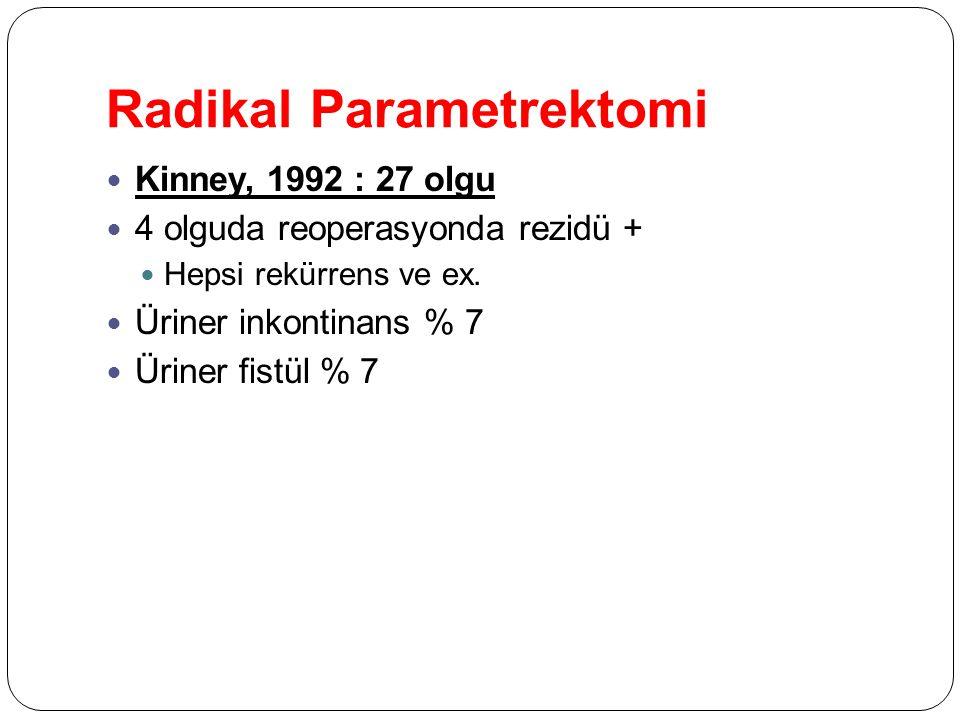 Radikal Parametrektomi