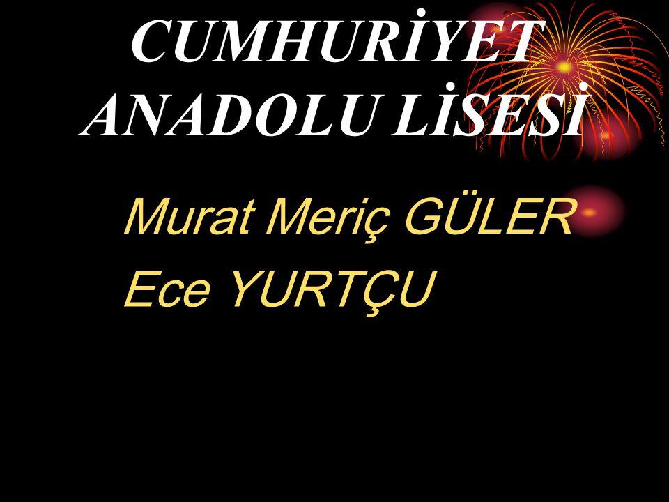 CUMHURİYET ANADOLU LİSESİ