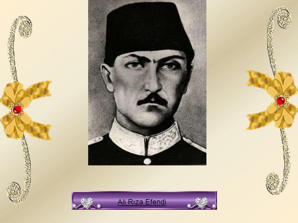 Ali Rıza Efendi