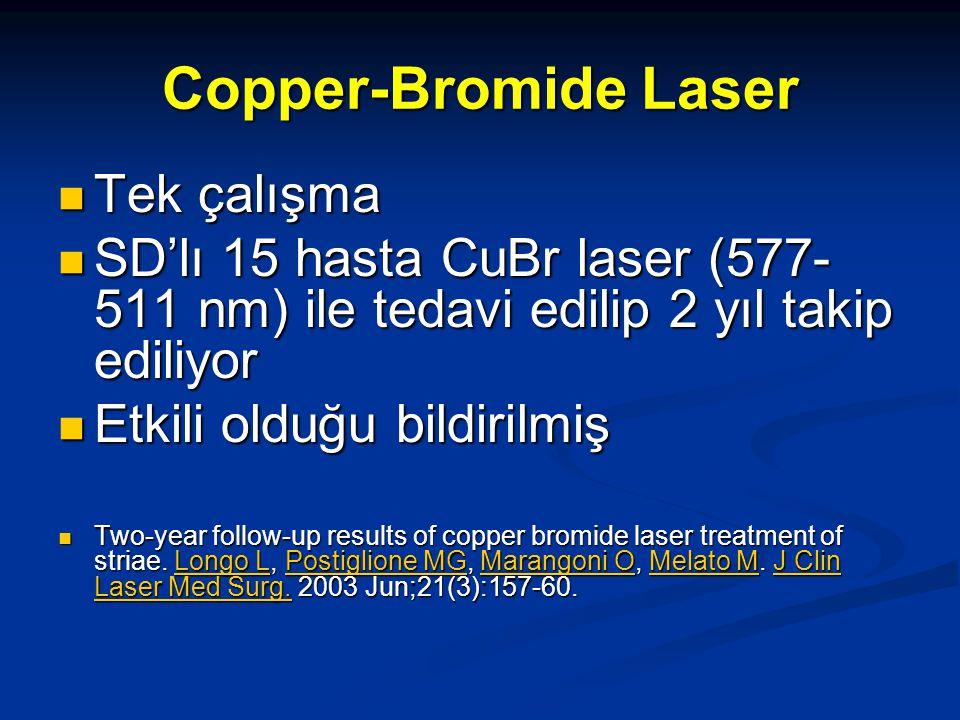 Copper-Bromide Laser Tek çalışma