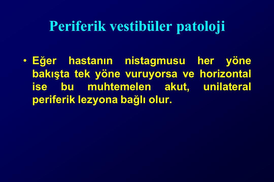 Periferik vestibüler patoloji