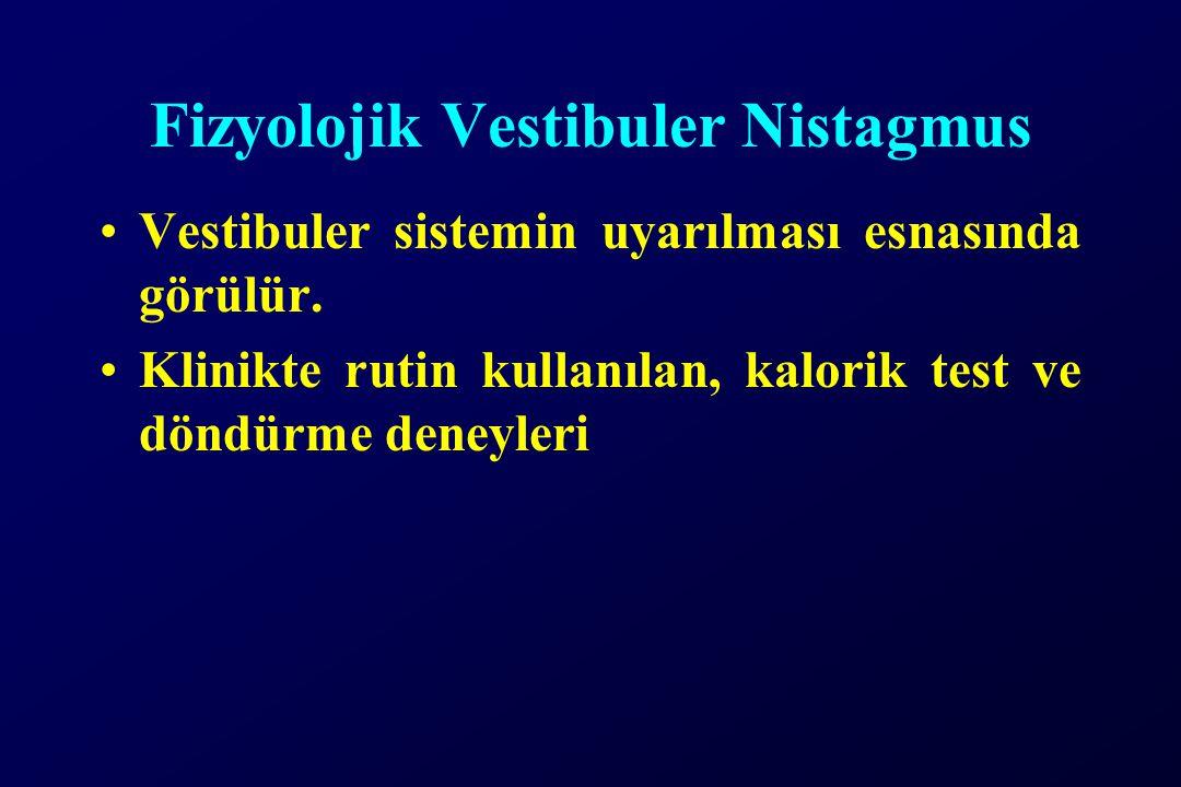 Fizyolojik Vestibuler Nistagmus
