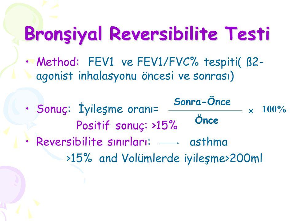 Bronşiyal Reversibilite Testi