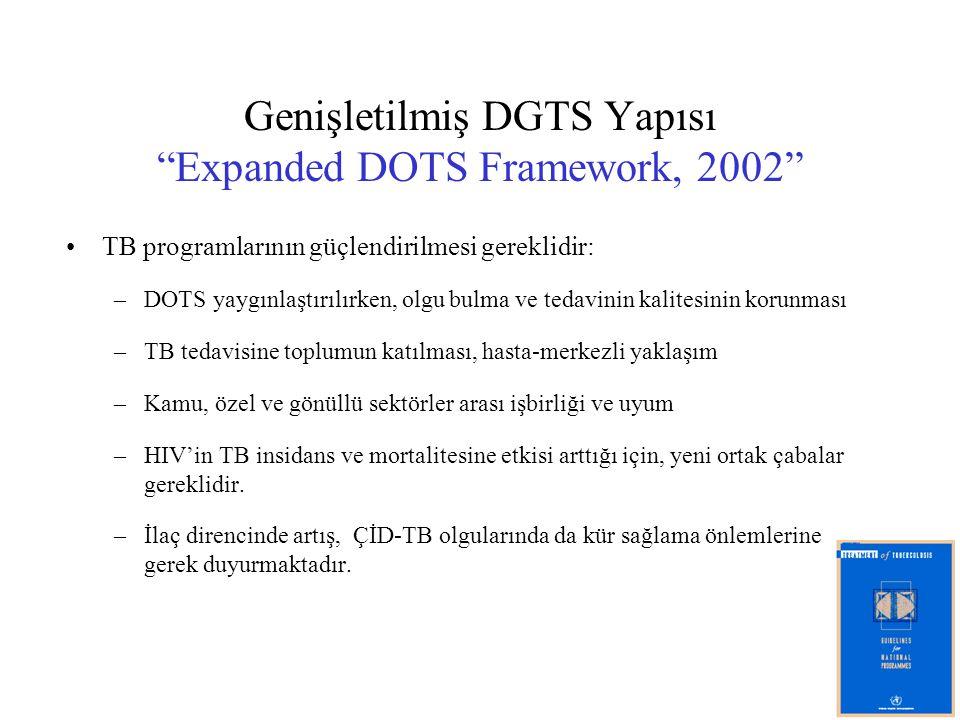 Genişletilmiş DGTS Yapısı Expanded DOTS Framework, 2002