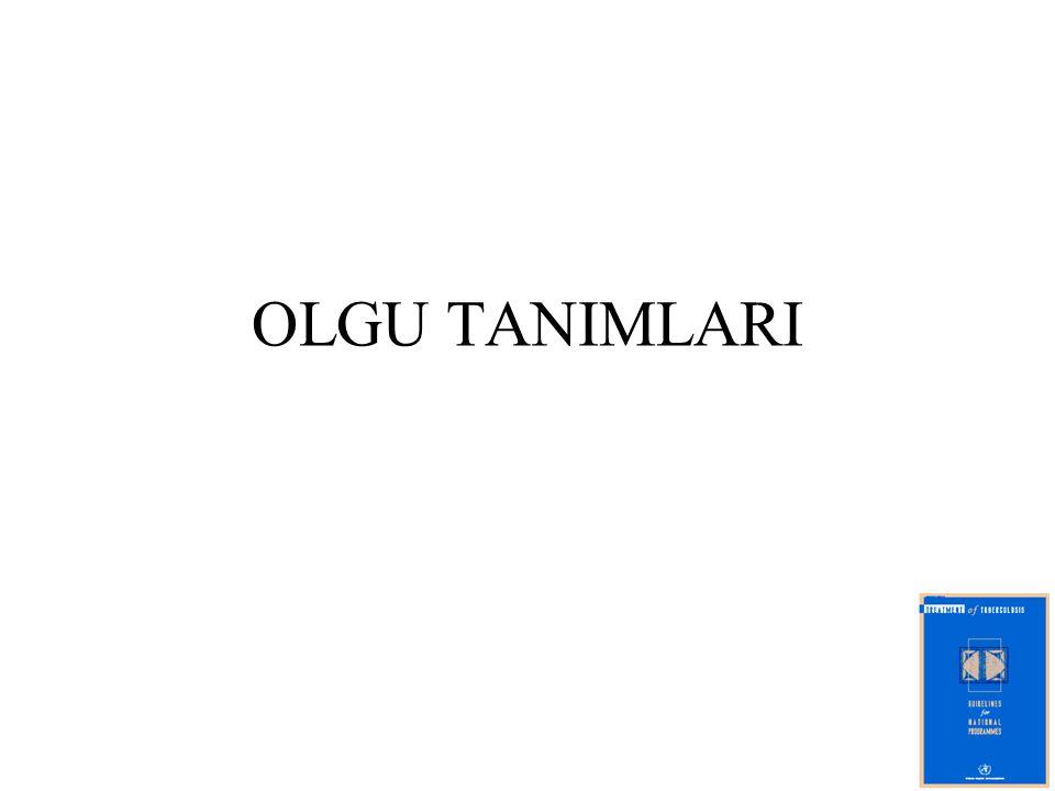 OLGU TANIMLARI