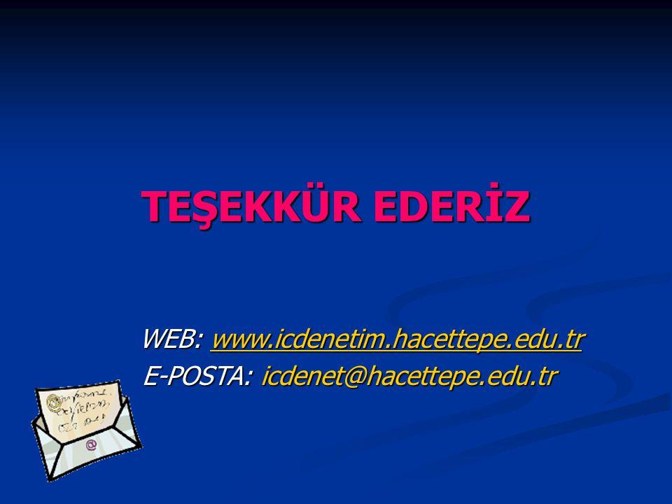 E-POSTA: icdenet@hacettepe.edu.tr