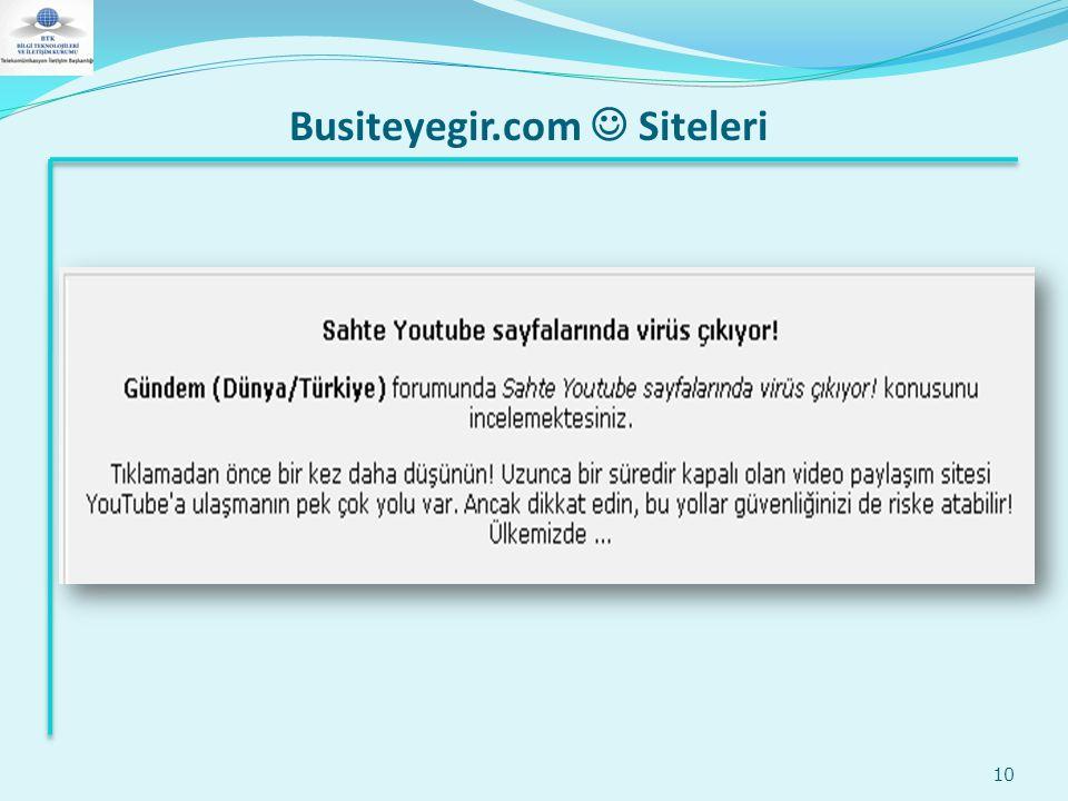 Busiteyegir.com  Siteleri