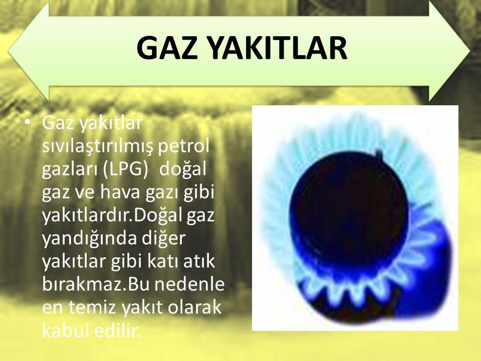 GAZ YAKITLAR