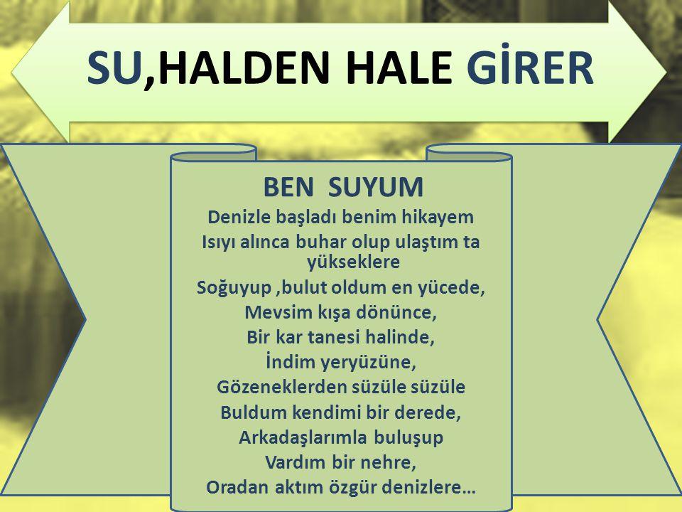 SU,HALDEN HALE GİRER