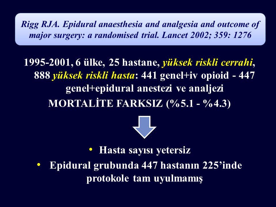 MORTALİTE FARKSIZ (%5.1 - %4.3)