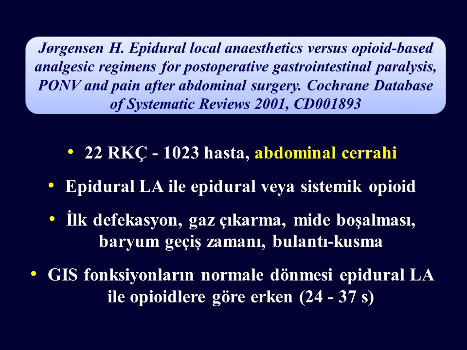 22 RKÇ - 1023 hasta, abdominal cerrahi