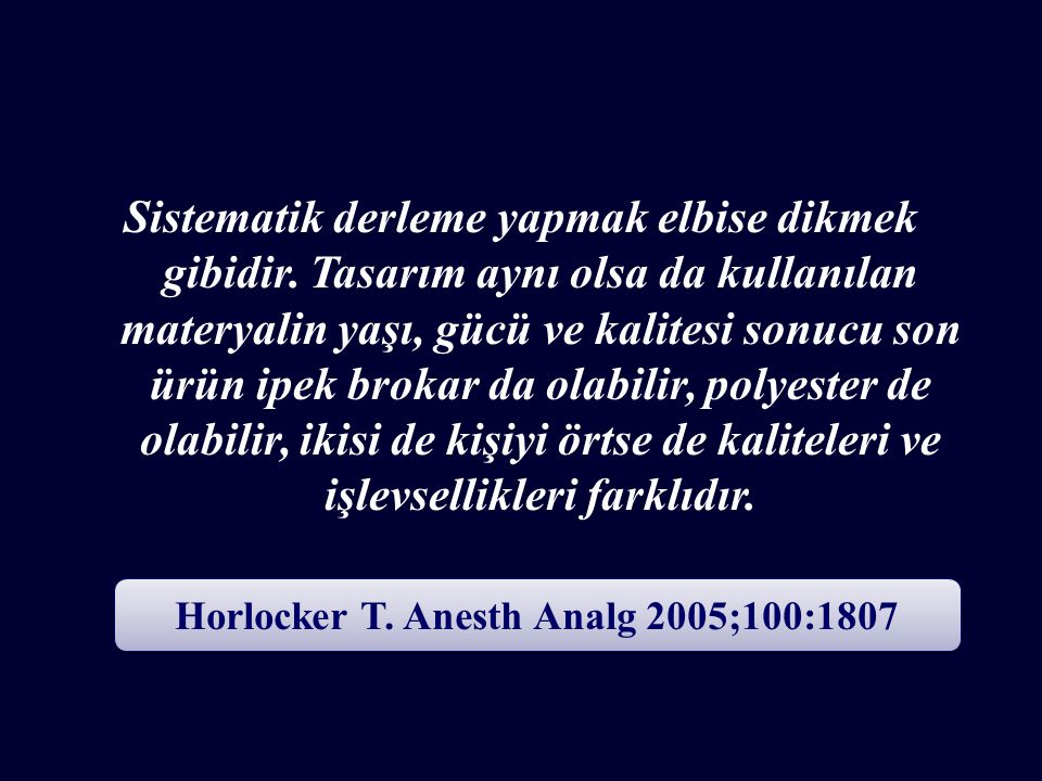 Horlocker T. Anesth Analg 2005;100:1807