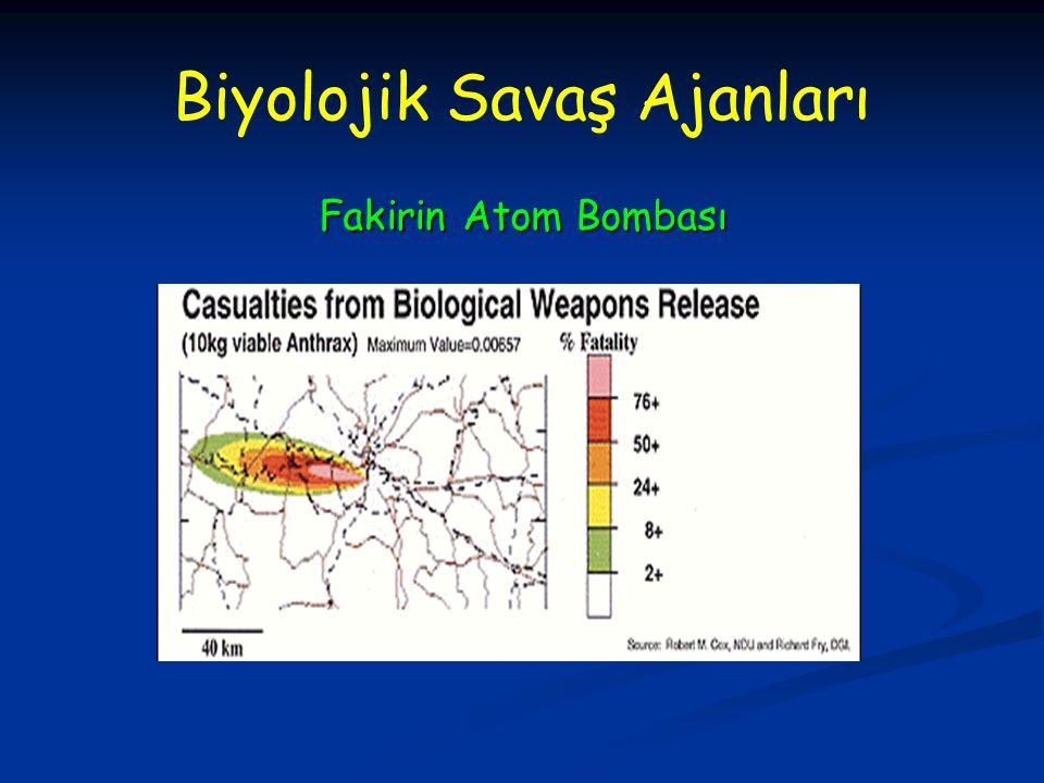 Biyolojik Savaş Ajanları