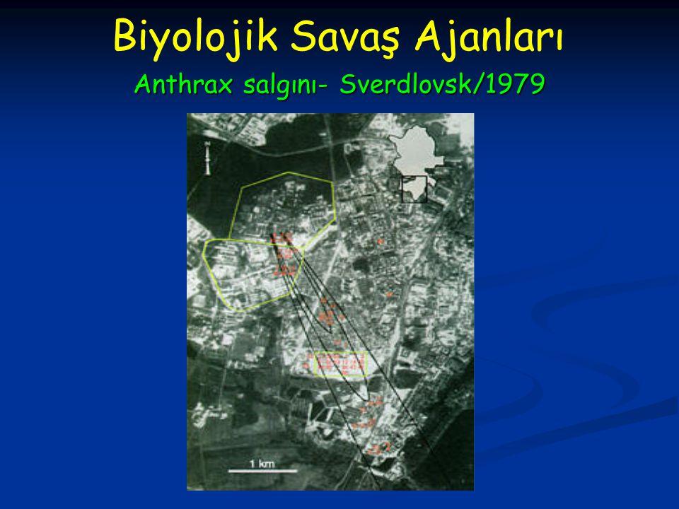 Anthrax salgını- Sverdlovsk/1979