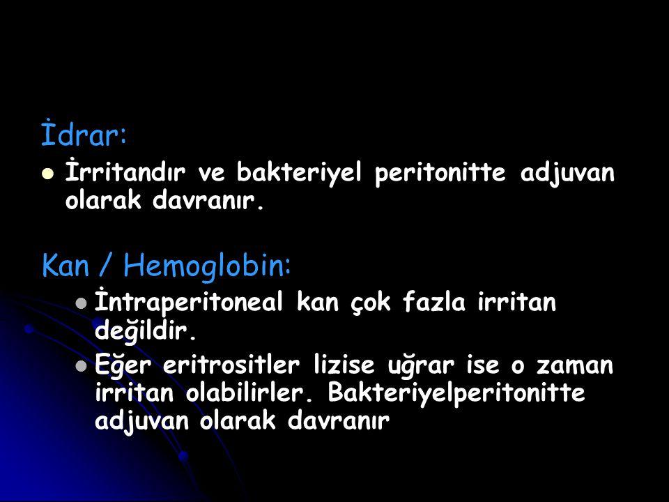 İdrar: Kan / Hemoglobin: