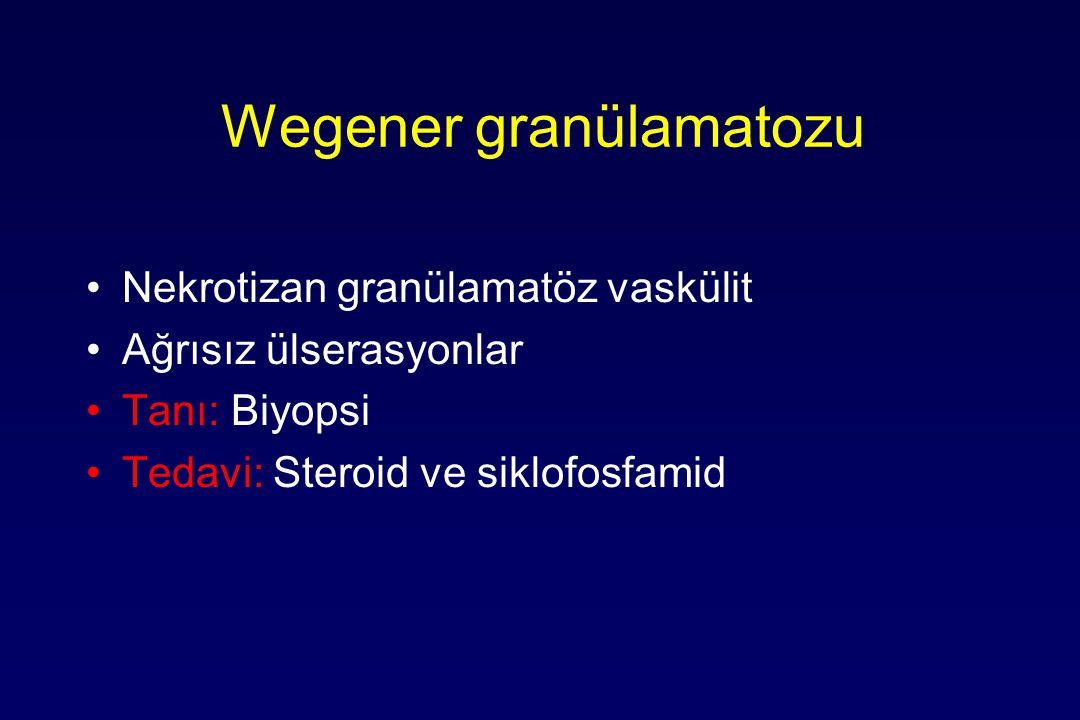 Wegener granülamatozu