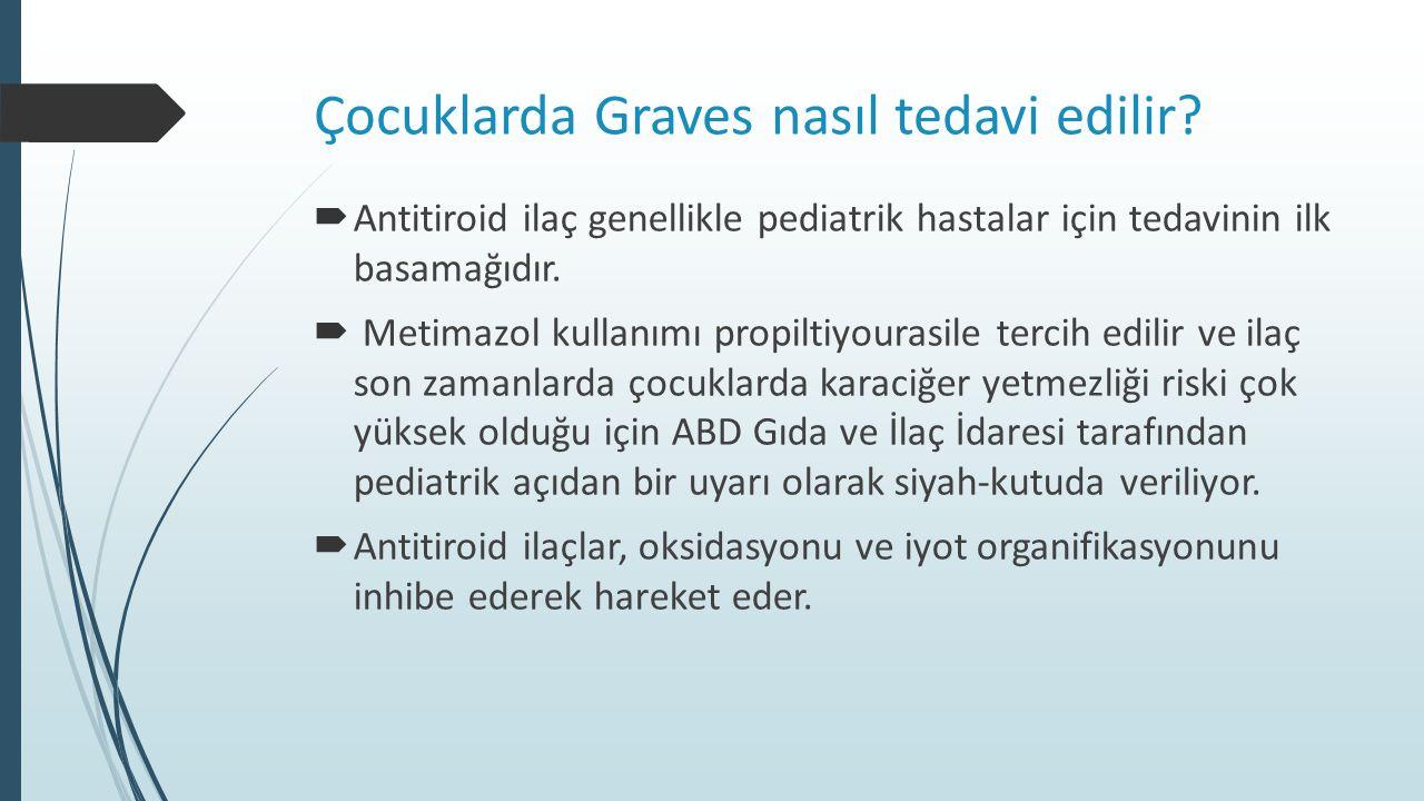 Çocuklarda Graves nasıl tedavi edilir