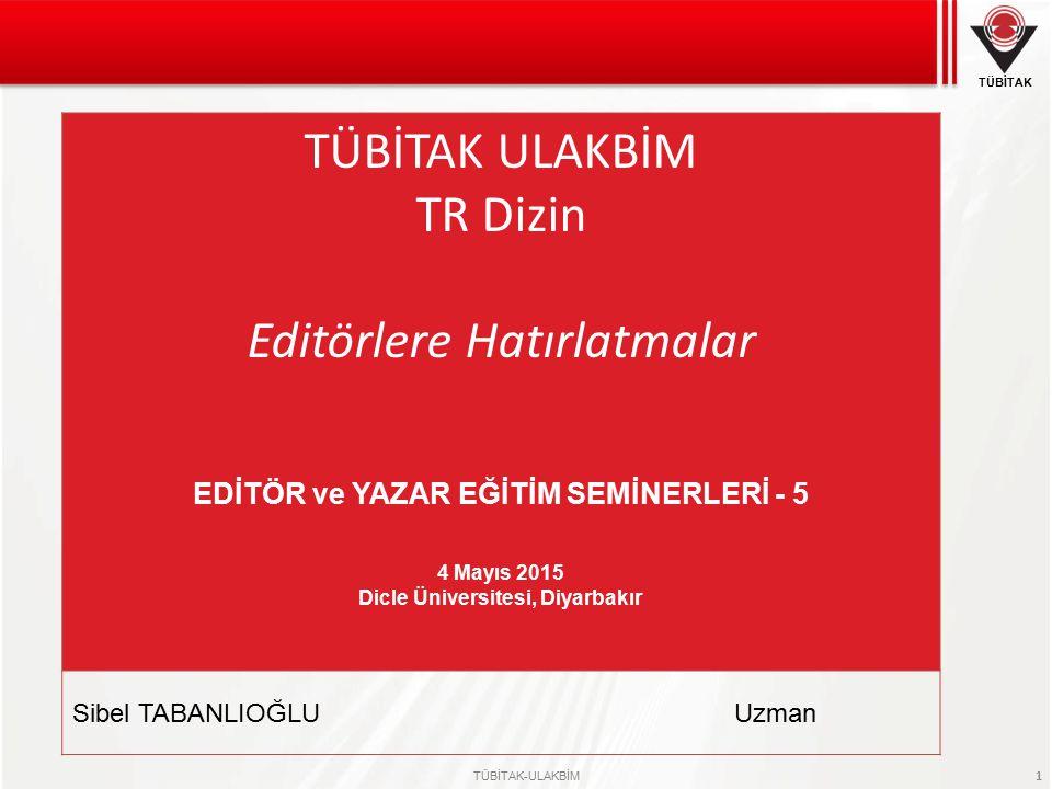 EDİTÖR ve YAZAR EĞİTİM SEMİNERLERİ - 5 Dicle Üniversitesi, Diyarbakır