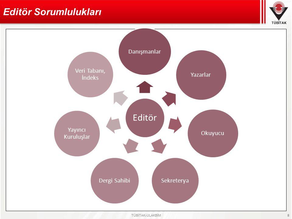 Editör Sorumlulukları