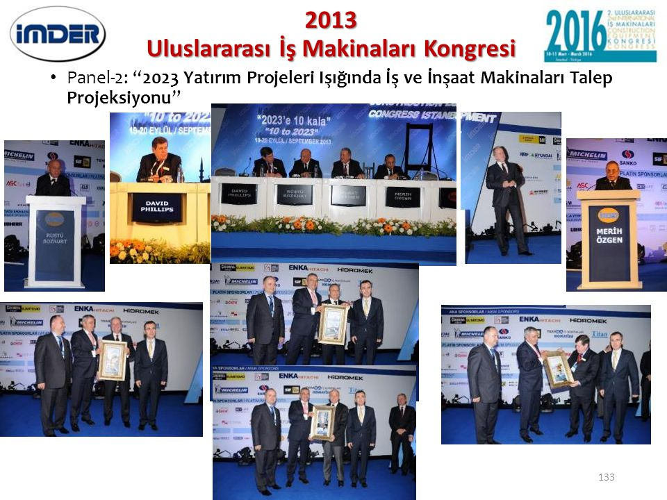 2013 Uluslararası İş Makinaları Kongresi