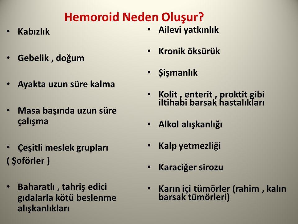 Hemoroid Neden Oluşur Kabızlık Gebelik , doğum Ayakta uzun süre kalma