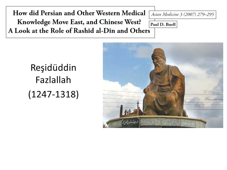 Reşidüddin Fazlallah (1247-1318)