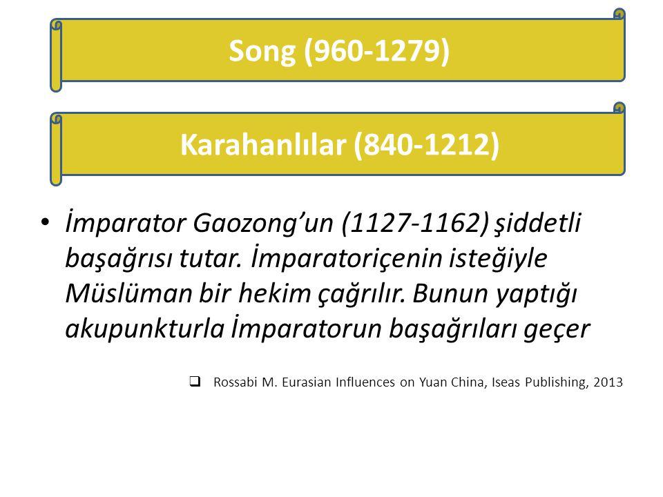 Song (960-1279) Karahanlılar (840-1212)