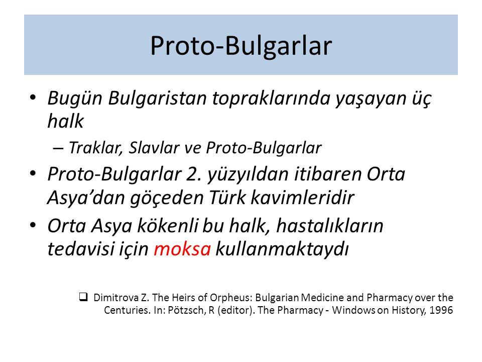 Proto-Bulgarlar Bugün Bulgaristan topraklarında yaşayan üç halk